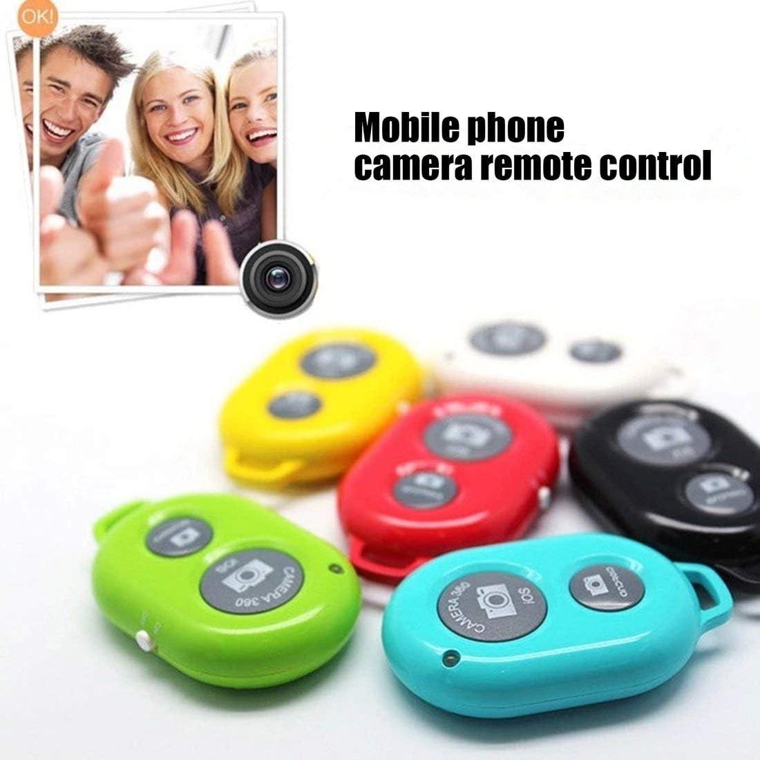 Formulaone Wiereless Phone Selbstausl/öser Ausl/öser f/ür iPhone 7 Selfie-Stick Ausl/öser Drahtlose Fernbedienung schwarz