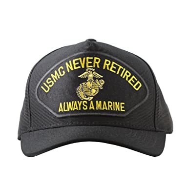 US Marine Corps Never Retired Always A Marine Cap Military Hats and Gifts