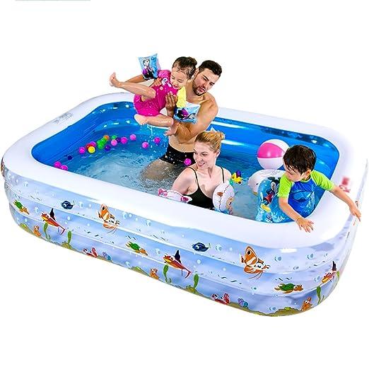 Bathtubs Bañera Independiente Hinchable Piscina PVC Rectangular de ...