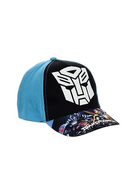 60f40778ab Transformers Cappello, berretto da baseball, berretto per bambini, 100%  cotone con velcro