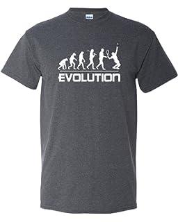 f2f4452e8 Thread Science Tennis Evolution Sports Ball Racquet Team Club Funny Humor Adult  Men's T-Shirt