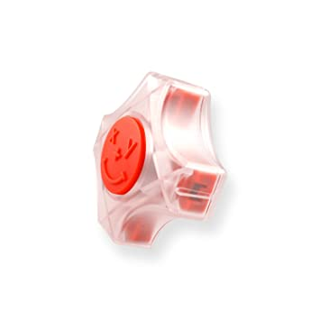 Amazon.com : CoordiMate Self Inking XY Graph Stamp Clear and Red ...