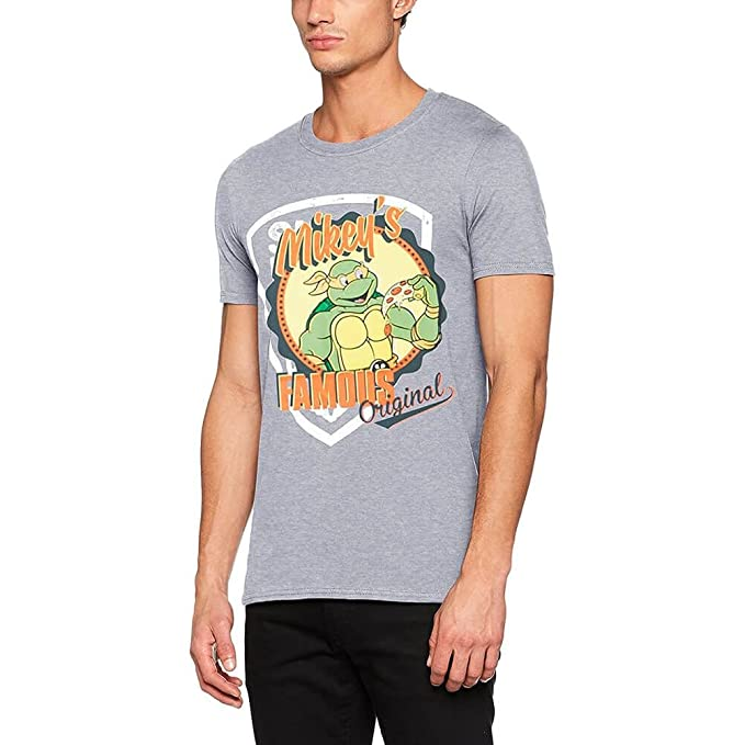 I-D-C Teenage Mutant Ninja Turtles-Mikeys Original Camiseta ...