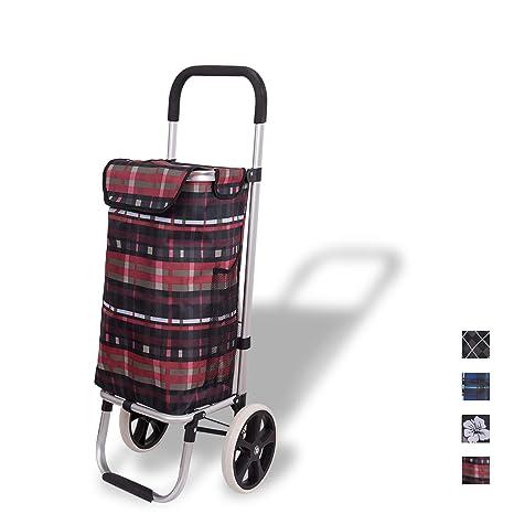 Amazon.com: WAYTRIM - Carro de la compra plegable de ...