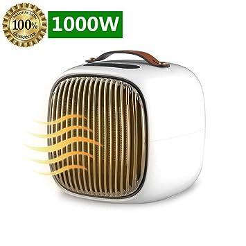 Koopee [2018 Nuevo] Handy Heater Calefactor, 1000W Mini Termoventiladores de Ventilador Calentador de
