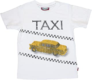 product image for City Threads Little Boys' Taxi Tee in White (c)
