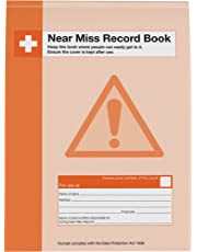Safety First Aid Group Near Miss A4 Record Book