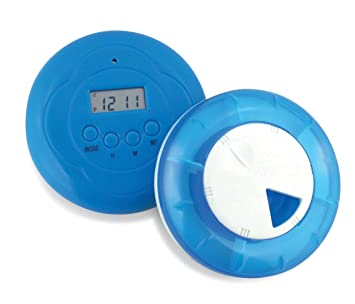 Vibration and Five Alarm Reminder Pill Box
