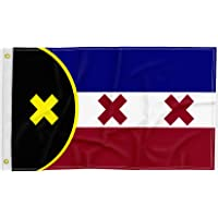SHELLBOBO Lmanburg Flag 2020 Dream SMP, L'manberg Freedom Flag 2x3 FT Double Stitched Polyester Flag with 2 Gronments