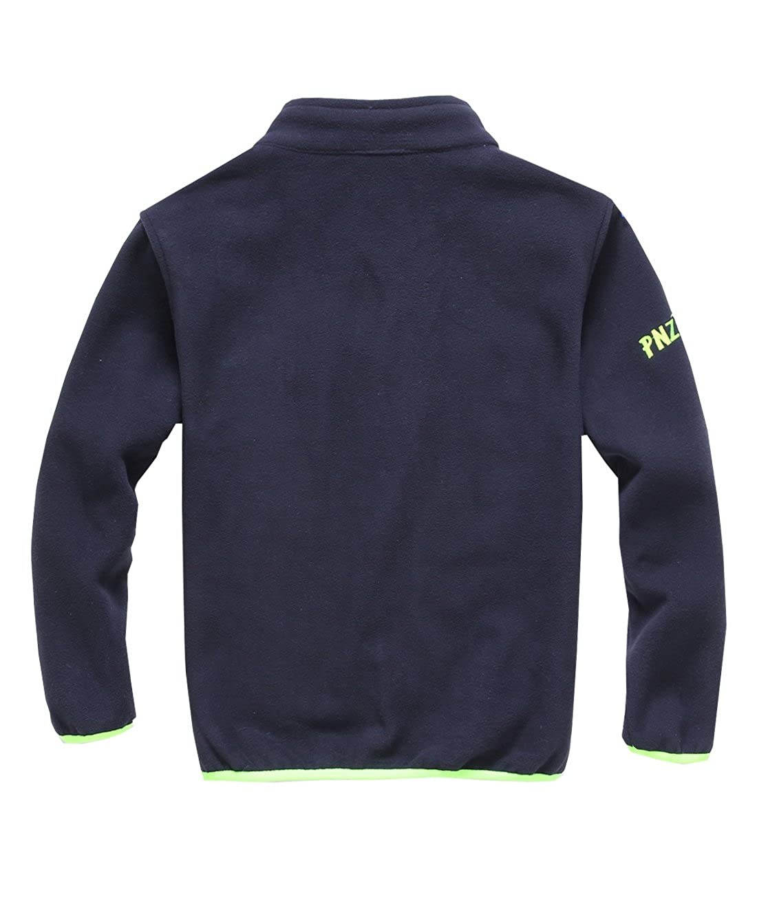 M2C Boys Girls Soft and Cozy Full Zip Polar Fleece Jacket