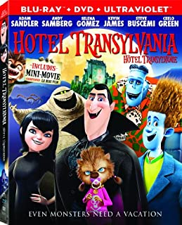 Hotel Transylvania (Bilingual) [Blu-ray + DVD + UltraViolet Copy] (B00A437MNQ) | Amazon price tracker / tracking, Amazon price history charts, Amazon price watches, Amazon price drop alerts