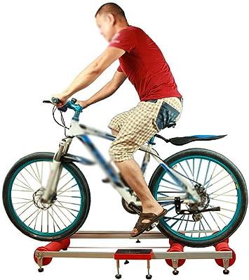 Indoor Bike /Übung Radsport-Rollentrainer Erobern Faltbarer Reittisch 84 cm Faltbarer Radrollentrainer Rollentrainer Rennrad Heimtrainer Schwungrad f/ür Mountainbike 24-29