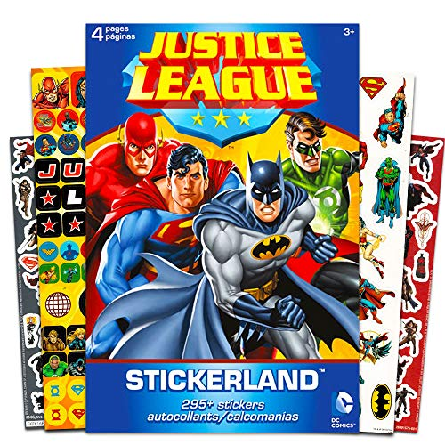 DC Comics Justice League Stickers ~ 295 Reward Stickers -