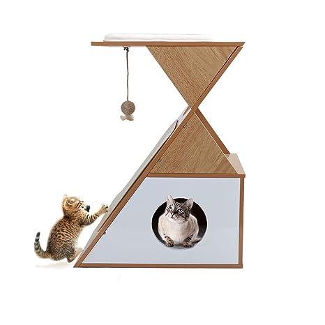 Cajitas protectoras para muebles de gato, árbol de gato, rascador para gatos, cubo de casa, ...
