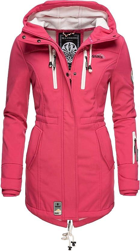 Marikoo Damen Softshell Jacke Outdoorjacke Zimtzicke 22 Farben XS 3XL