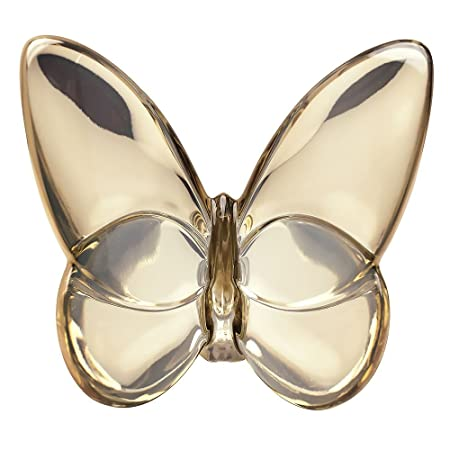 Baccarat Crystal Lucky Butterfly Gold