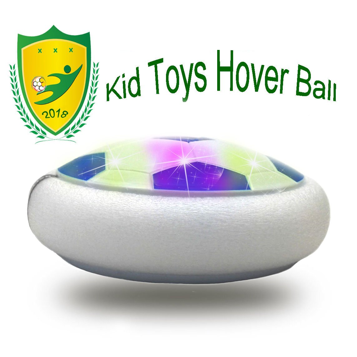 JRD & BS WINL Kids Toys Amazing LED Hover Football For Kid Best Gifts グリーン 288 B07BNDHWK1 Style1 Blue