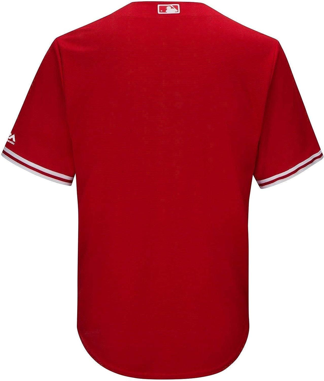 Toronto Blue Jays Mens Cool Base Replica Alternate Red Jersey
