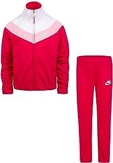 53d8fc989d Nike Little Girls` Therma-Fit Full Zip Hoodie & Jogging Pants 2 Piece Set