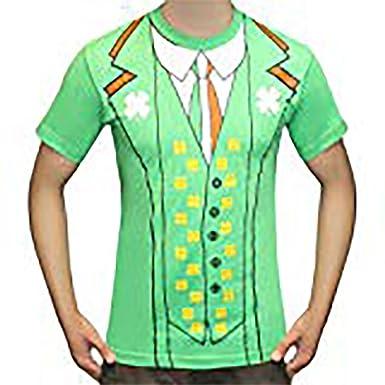 e896f05fbccb4 Irish St Patrick s Day Fancy Dress T-shirt  Amazon.co.uk  Clothing
