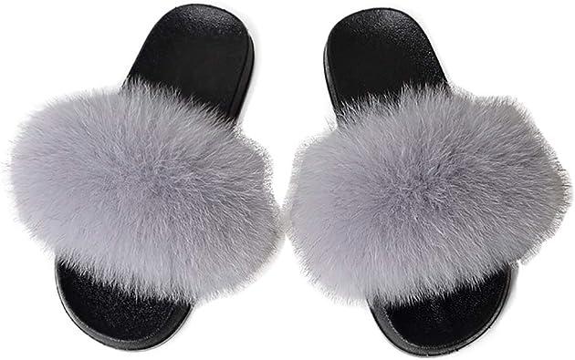 Amazon.com   Women Fox Fur Feather