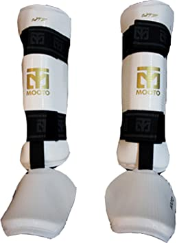Taekwondo Shin and Forearm Guards Set Cloth Protection Pads Tkd MMA