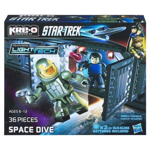 KRE-O Star Trek Space Dive Construction Set (A3138) (Star Trek Toys Kre O)