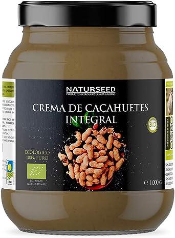 NATURSEED Crema de Cacahuete Organica 100% Natural Ecologica ...