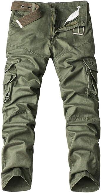 Cargo Combat Hose Herren Designer Hose,Militär Armee,Tarnfarbe Peviani