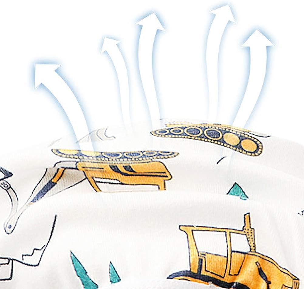 Unterw/äsche Jungen Cartoon Druckmuster LSHEL 3 St/ück Kinder Unterhosen Jungen Boxershorts Baumwolle