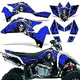 06 ltr 450 parts - Suzuki LTR450 2006-2009 Graphic Kit ATV Quad Decal Sticker Wrap LTR 450 REAPER BLUE
