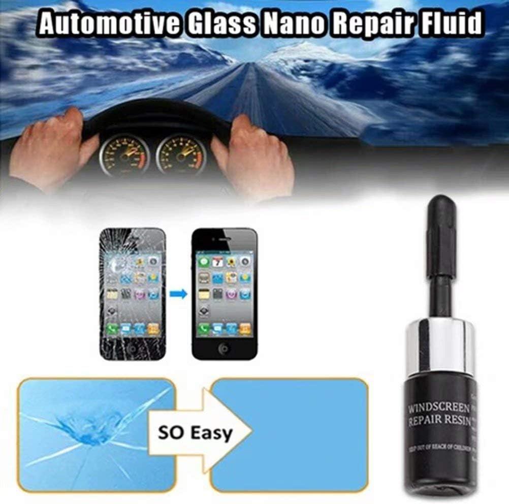 Automotive Glass Nano Repair Fluid Car Window Glass Crack Chip Repair Tool Kit,Crack Repairing DIY Tool Kit for Car