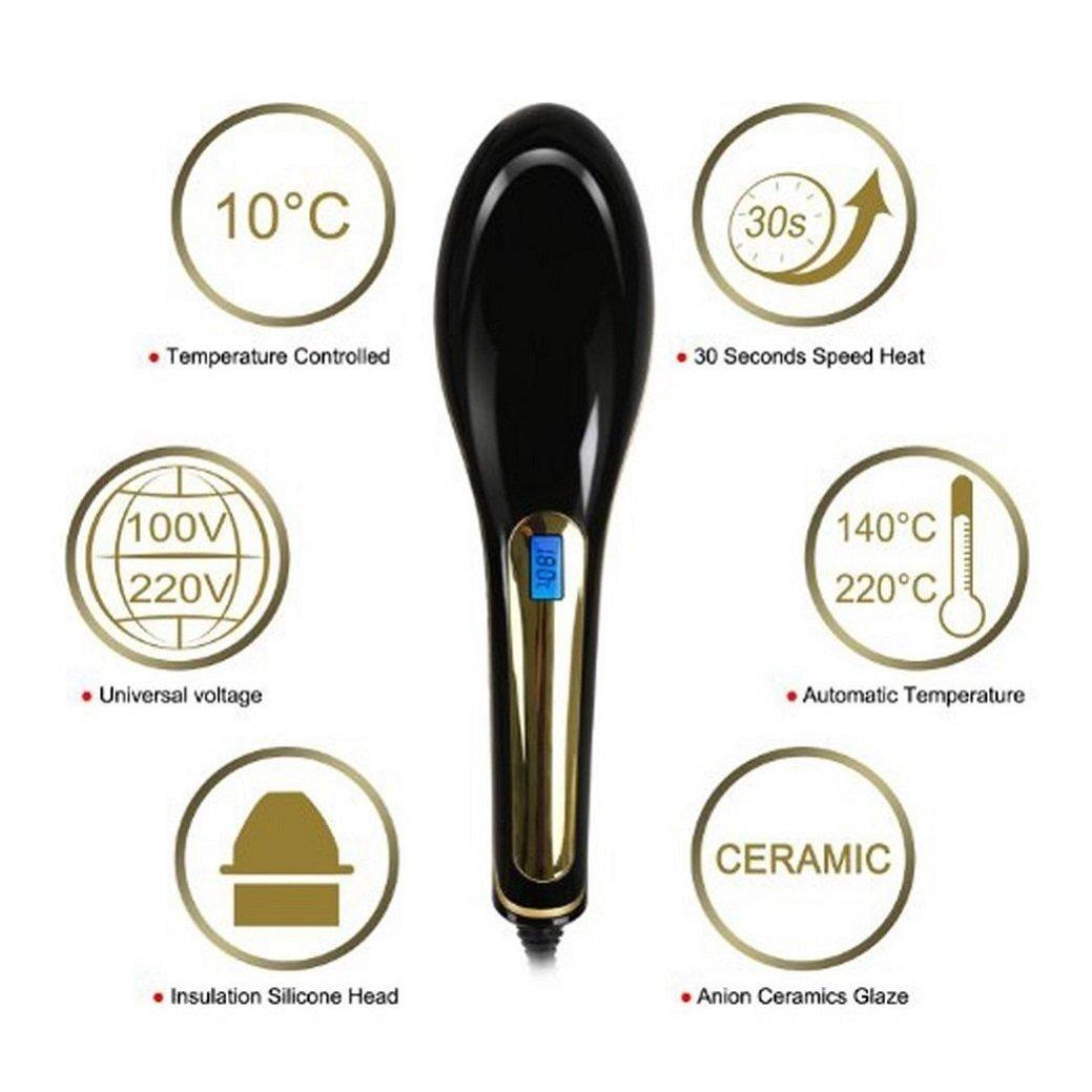 Amazon Com Nasv 100 Electric Lcd Ceramic Massager Hair