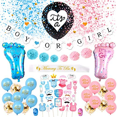 Gender Reveal Party Supplies Pack product image