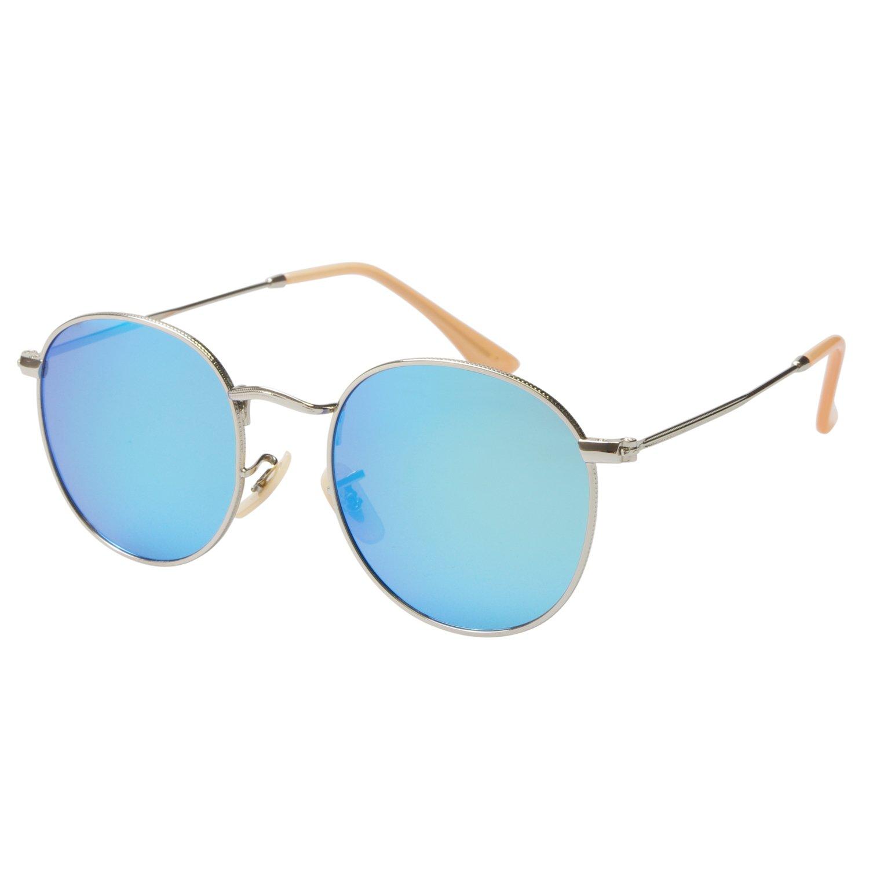 zhile lennon vintage style round sunglasses with