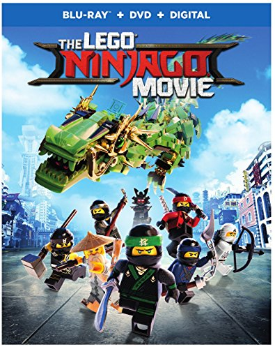 Blu-ray : The Lego Ninjago Movie (With DVD, Digital Copy, 2 Disc)