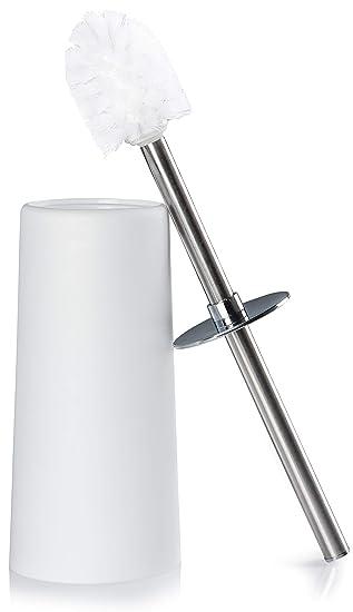 Häufig NENI WC-Bürste mit Halter in Weiß - Stabile Toilettenbürste mit YI74