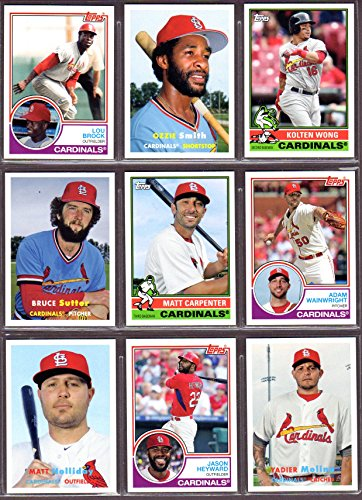 St Louis Cardinals 2015 Topps Archives Baseball Team Set (Featuring Classic Topps Designs from 1957, 1976, 1983)...