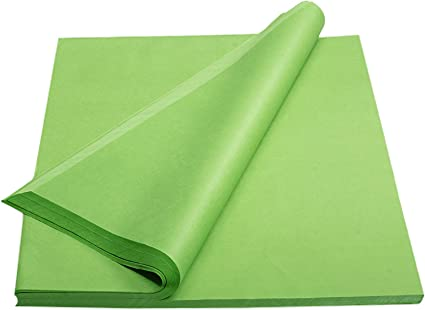 Strong Quality Light Lime Green Acid Free Tissue Paper Wrapping Paper Gift Wrap