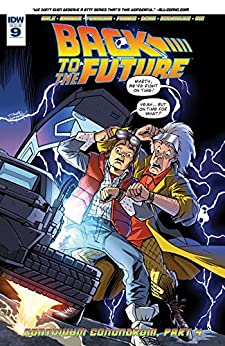 Back to the Future #9 by [Gale, Bob, Barber, John]