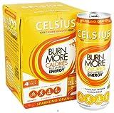 CELSIUS INC. DRINK,SPARKLING ORANGE, 4/12 FZ Review
