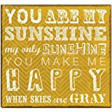 Expressions Collection You Are My Sunshine Expandable Scrapbook, Includes 10 Acid Free 12x12 Inch Pages