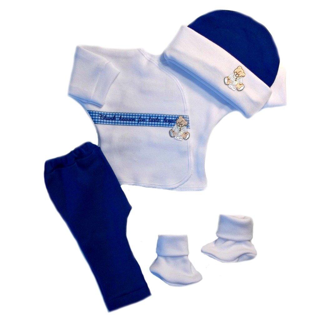 ジャッキーの赤ちゃんの男の子Thank Heaven Clothing Outfit Preemie  B00757SGCK