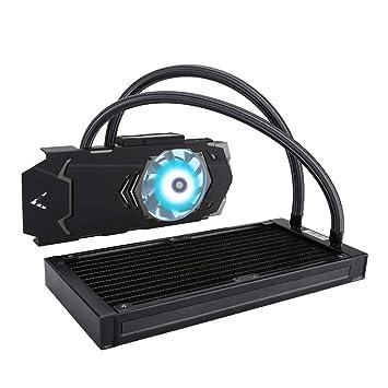 Pokerty Enfriador de Agua GPU, Tipo Integrado de radiador de ...