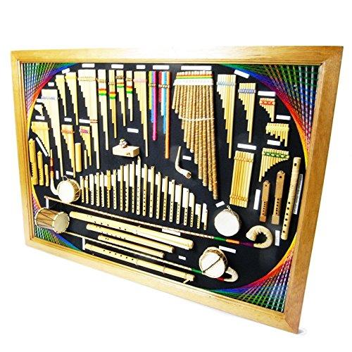 逆輸入 アンデス伝統楽器ミニチュア壁掛け [ボリビア製] 正規品新品 写真現物一点物 写真現物一点物 B00OC2R1Z4 正規品新品 B00OC2R1Z4, ディーラックス:62bee3a7 --- efichas.com.br