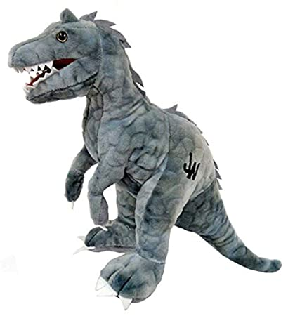 Amazon Com Jurassic World 11 Plush Gray Indominus Rex Toys Games