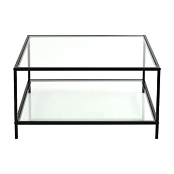 Royaume-Uni disponibilité 301d6 d9438 Furniture R Table Basse Verre Trempé Transparente de Salon ...