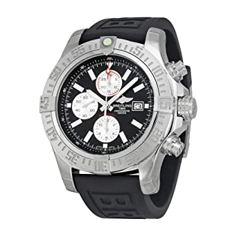 f5720f08ce4 Image Unavailable. Image not available for. Color  Breitling Men s  BTA1337111-BC29BKPT3 Super Avenger II ...
