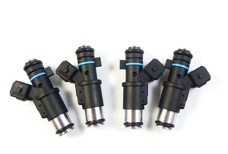 4pcs Inyector de Combustible 1984e0/nuevo para Berlingo C2/C3/Saxo Xsara Pluriel 206/SW socio 307/partnerspace C3/I 1996/1997/1998/1999/2000/2001/2002/2003/2004/2005/2006/