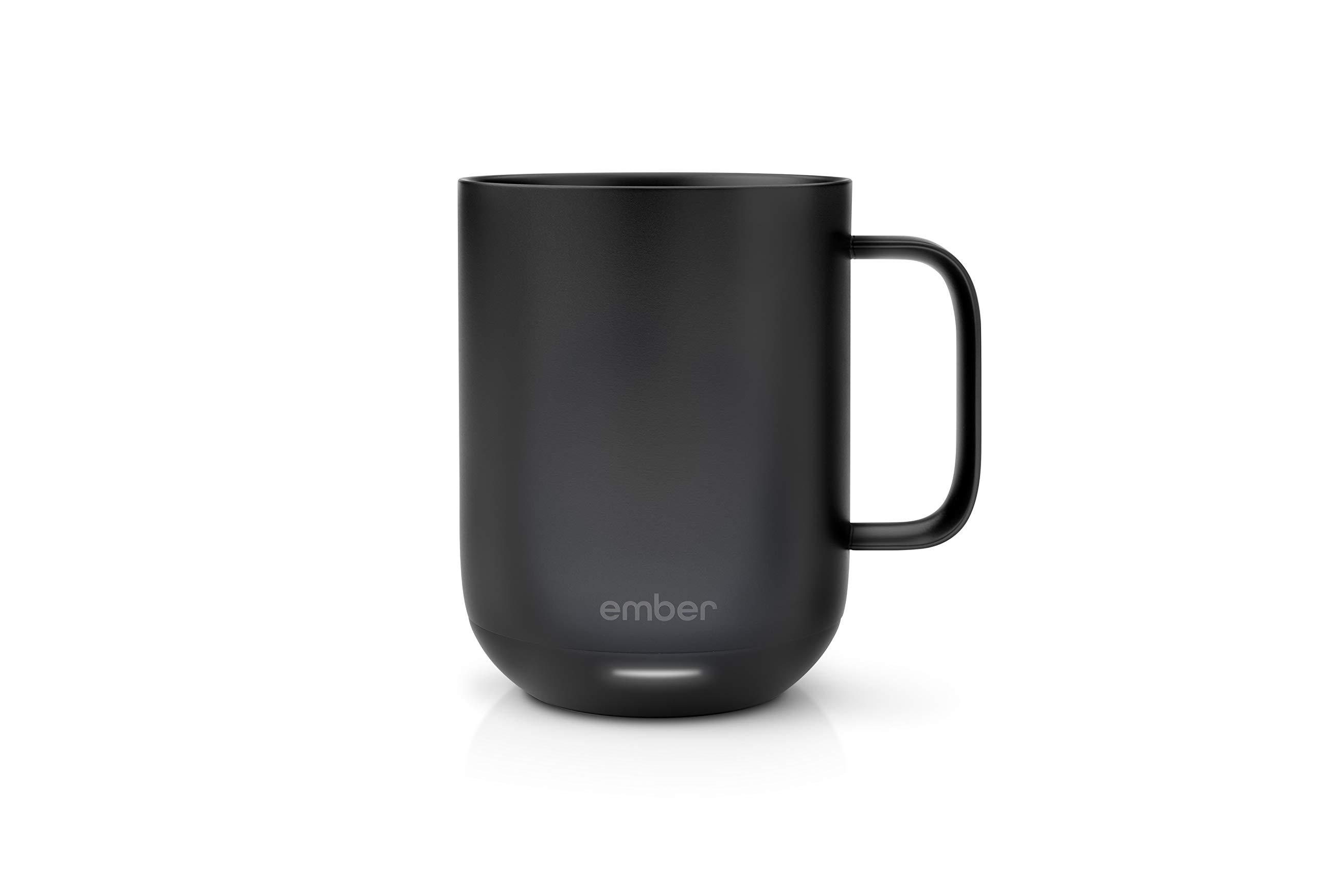 Ember (EMBFJ) CM171000US Temperature Control Ceramic Mug, One Size, Black